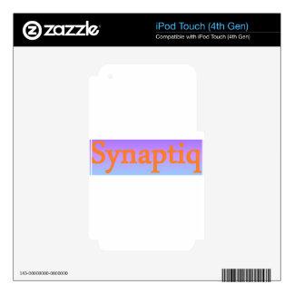 Synaptiq Society store iPod Touch 4G Skins
