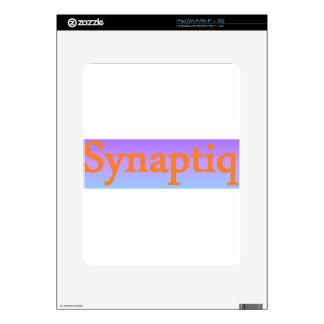 Synaptiq Society store Skin For iPad