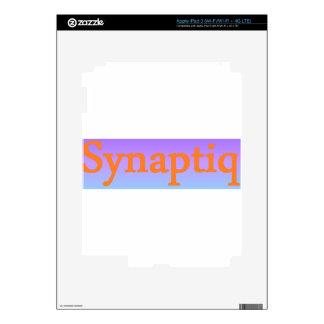 Synaptiq Society store Skins For iPad 3