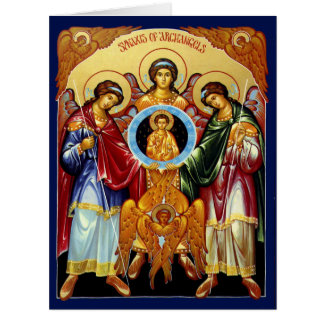 Synaxis of the Holy Archangels Card