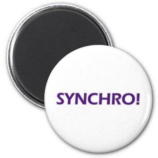 Synchro! 2 Inch Round Magnet