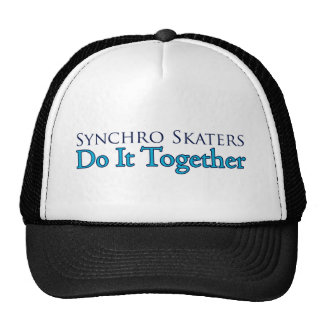 Synchro Skaters Do It Together Trucker Hat