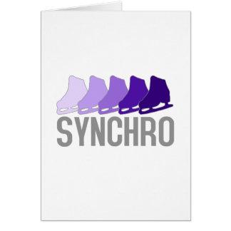 Synchro Skates Card