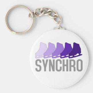 Synchro Skates Keychain