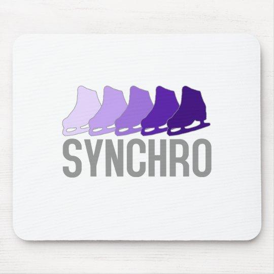 Synchro Skates Mouse Pad