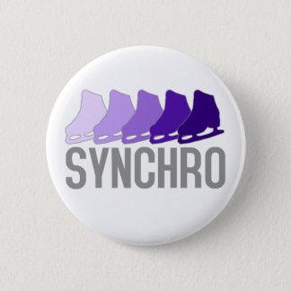 Synchro Skates Pinback Button