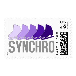 Synchro Skates Stamp