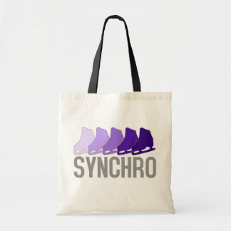 Synchro Skates Tote Bag