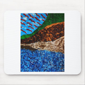 """""""Synchronicity set 3 (high contrast)"""" Mouse Pad"""