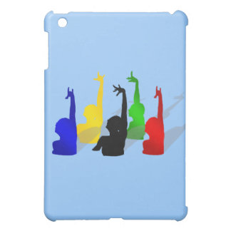 Synchronised swimming Synchronised swimmers iPad Mini Cases