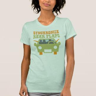 Synchronize Rear Flaps T-Shirt