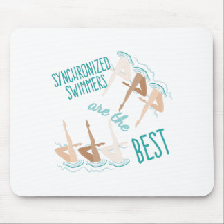 Synchronized Swimmers Mouse Pad