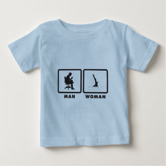Synchronized Swimming Baby T-Shirt