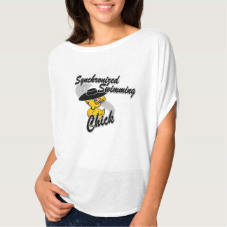 Synchronized Swimming Chick #4 T-Shirt