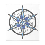 Synchronized Swimming Circle Logo in Blue Note Pads