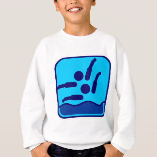 Synchronized_swimming_dd.png Sweatshirt