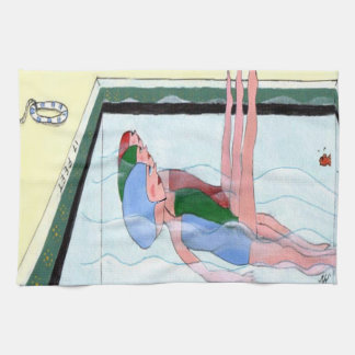 Synchronized Swimming Hand Towel