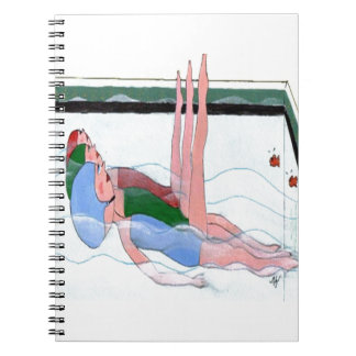 Synchronized Swimming Notebook