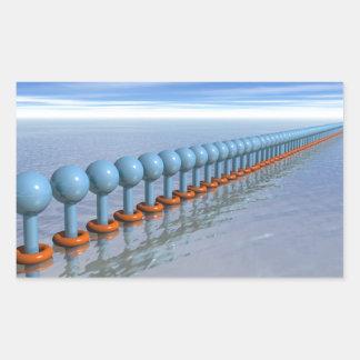 Synchronized Swimming Rectangular Sticker