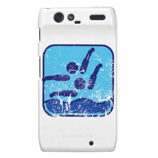 Synchronschwimmen Motorola Droid RAZR Carcasas