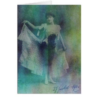 Syncopated Lady Card
