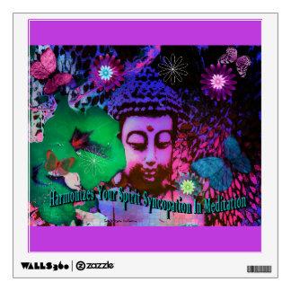Syncopation Buddha Wall Decal