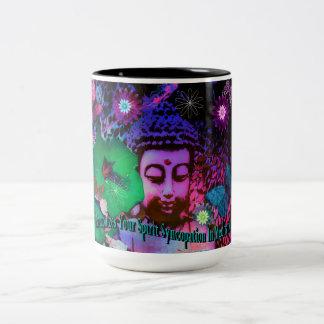 Syncopation Retro Buddha Coffee Mug