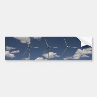Syncronised Wind Turbines Bumper Sticker