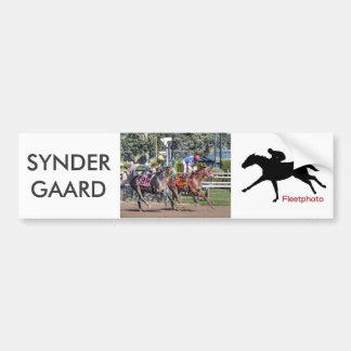 Syndergaard - Velasquez Bumper Sticker