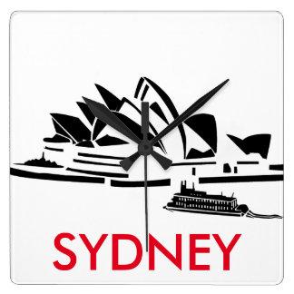 Syndey Opera House Minimalist Clock