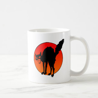 Syndicalist's cat coffee mug