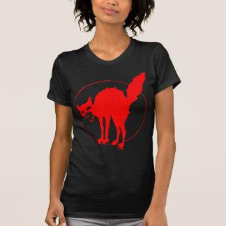 Syndicalist's cat t shirt
