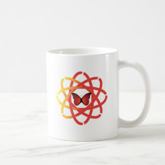 Synergetic Spirit Center Butterfly Coffee Mug