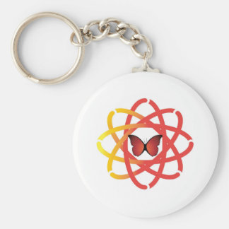 Synergetic Spirit Center Butterfly Key Chain