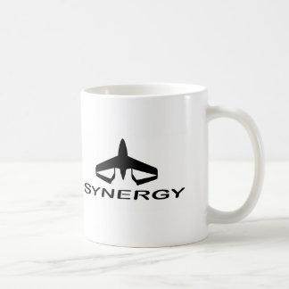 Synergy icon logo coffee mug
