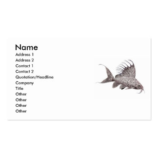 Synodontis Catfish Business Card