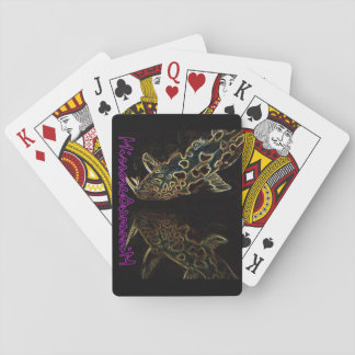 Synodontis catfish playing cards