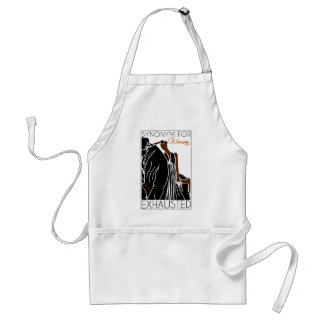 SYNONYM FOR WOMAN EXHAUSTED ADULT APRON