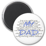 Synonyms For Dad Fridge Magnet