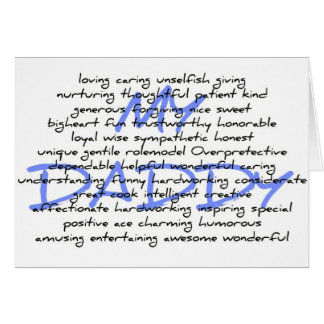 Synonyms For Daddy Card
