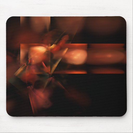Synopsis Abstract Fractal Artwork Mouse Pad