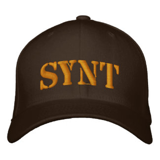 SYNT EMBROIDERED BASEBALL CAPS
