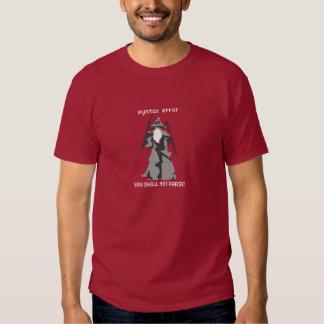 Syntax error tee shirt