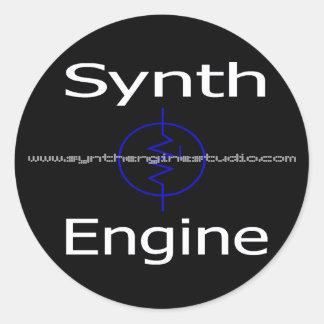 "Synth Engine 3"" Sticker Set ( x6 )"