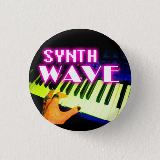 Synth Wave button