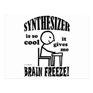 Synthesizer, Brain Freeze Postcard