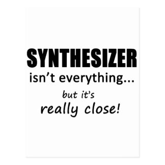 Synthesizer Isn't Everything Postcard