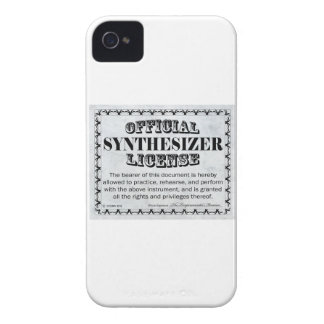 Synthesizer License iPhone 4 Case