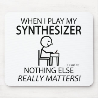 Synthesizer Nothing Else Matters Mouse Pad