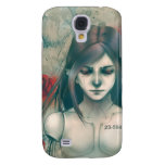 Synthetic Beauty blue version Galaxy S4 Cover